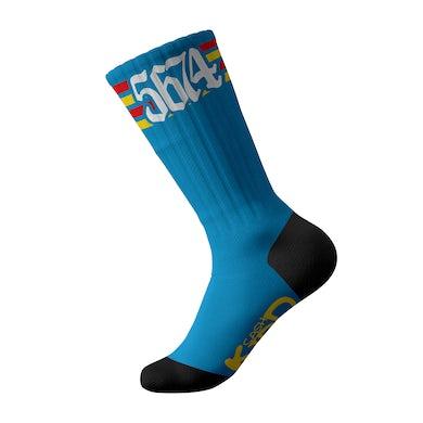 Cash Kidd - Blue 5674 Socks