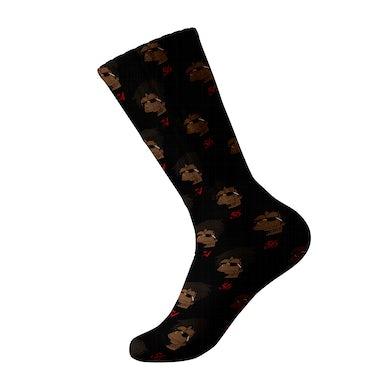 Cash Kidd - Black 5674 Simpsons Socks
