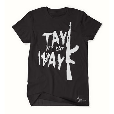 Tay Way - Black / White T-Shirt