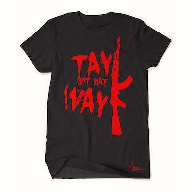 Tay Way - Black / Red T-Shirt