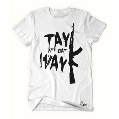 Tay Way - White / Black T-Shirt