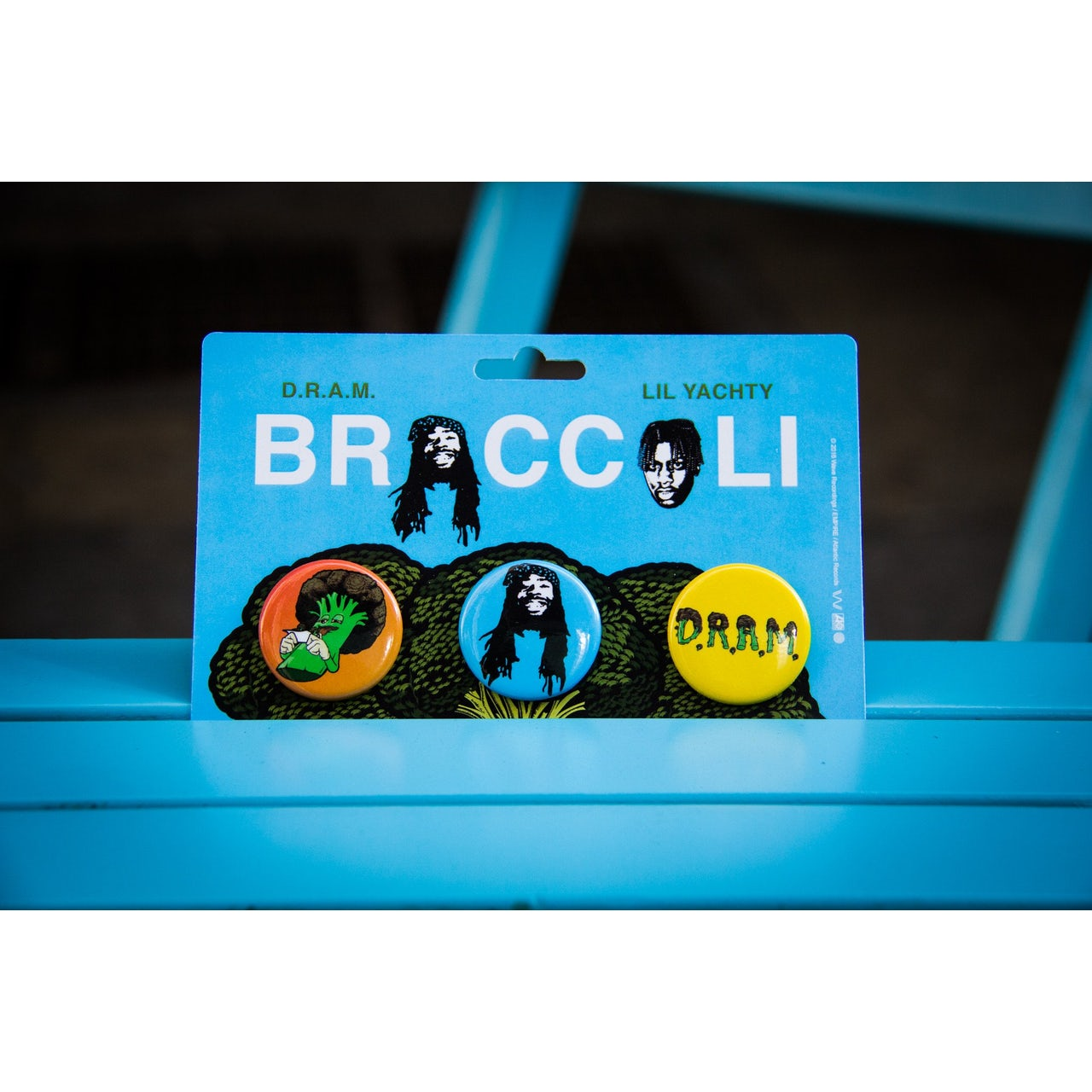 D R A M  - Broccoli Button Pack