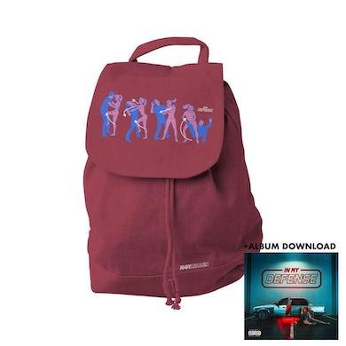 Iggy Azalea Defender - Burgundy Back Pack