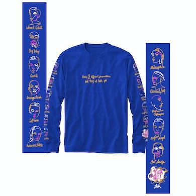 Iggy Azalea Lola - Different Personalities - Blue Long Sleeve