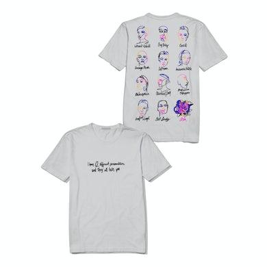 Iggy Azalea Lola - Different Personalities - Cement T Shirt