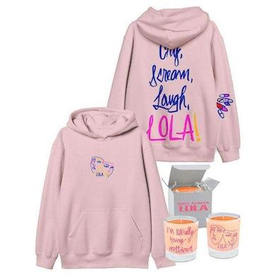 Iggy Azalea Lola - Candle & Dusted Pink Hoodie