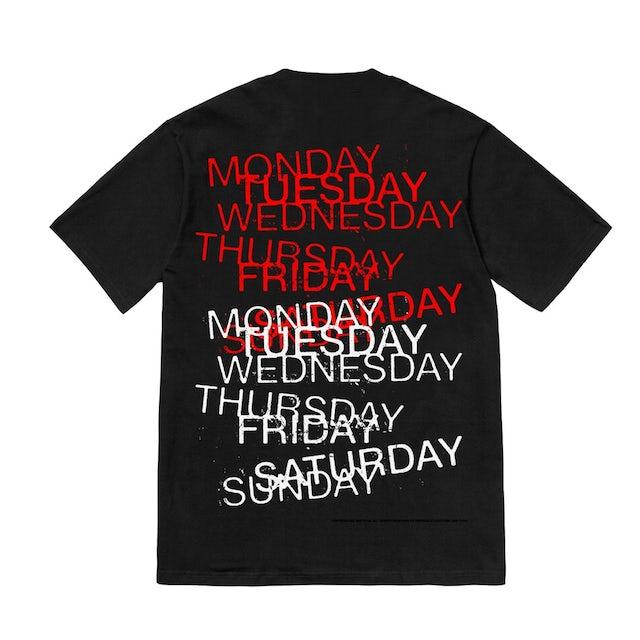 Tyga Every Day Of The Week Freak - Black Tee