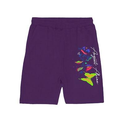 August Alsina Transitions Purple Shorts
