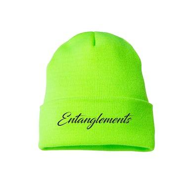 August Alsina Entanglements Neon Green Beanie