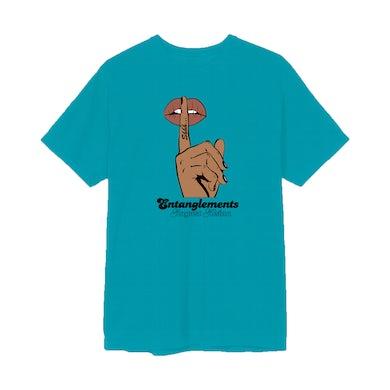 Entanglements Whisper Teal T-Shirt