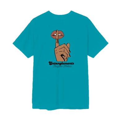 August Alsina Entanglements Whisper Teal T-Shirt