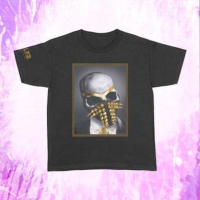 Busta Rhymes Framed Skull - Black T-Shirt