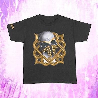Busta Rhymes Gold Wreath - Black T-Shirt