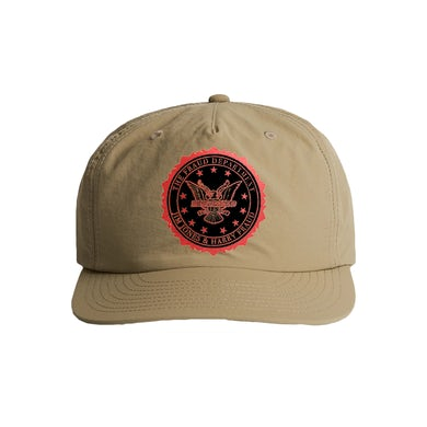 Fraud Department Nylon Surf Hat - Khaki