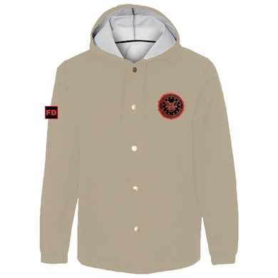 Fraud Department Work Jacket - Khaki