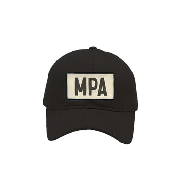 Peewee Longway MPA Black Dad Hat