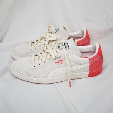 AllBlack G-Eazy: Puma Suede x Pigeon Staple - Star White