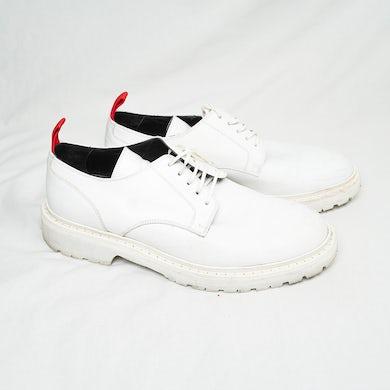 AllBlack Guapdad 4000: 424 Lace Up Shoes - White