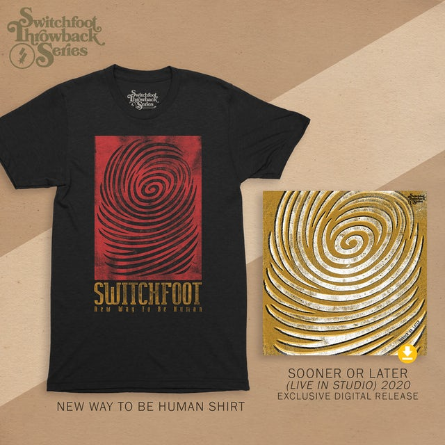 Switchfoot New Way To Be Human Throwback T
