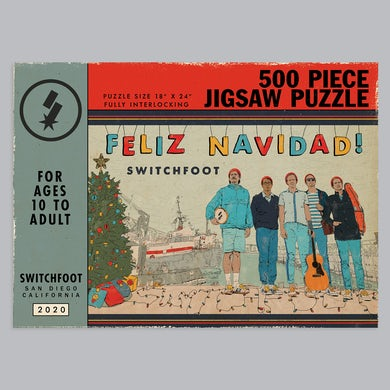 Switchfoot Feliz Navidad Jigsaw Puzzle