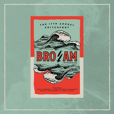 Switchfoot 17th Annual Bro-Am Poster