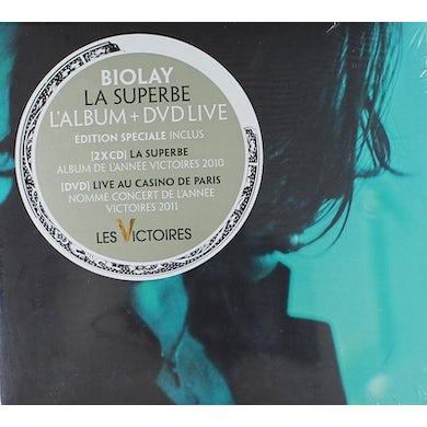 Benjamin Biolay / La superbe (L'album + DVD Live) - 2CD/DVD