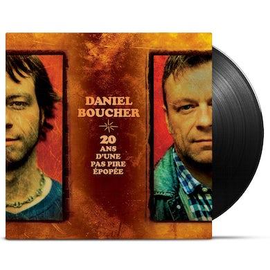 Daniel Boucher / 20 ans d'une pas pire épopée - LP Vinyl