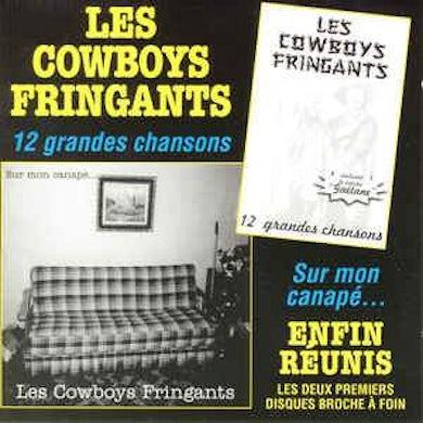 Les Cowboys Fringants / 12 Grandes Chansons + Sur Mon Canapé... - 2CD