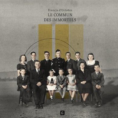Francis D'Octobre / Le commun des immortels - CD