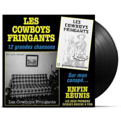 Les Cowboys Fringants / Enfin réunis : 12 grandes chansons / Sur mon canapé - 2LP Vinyl