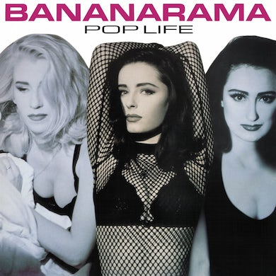 Bananarama ‎/ Pop Life - Translucent Pink LP Vinyl + CD