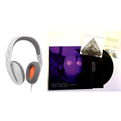 "Matmos / The Ganzfeld EP + Incase Reflex Headphones - 12"" Vinyl"