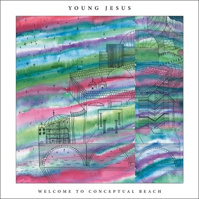 / Welcome to Conceptual Beach (Green Marbled) - LP Vinyl