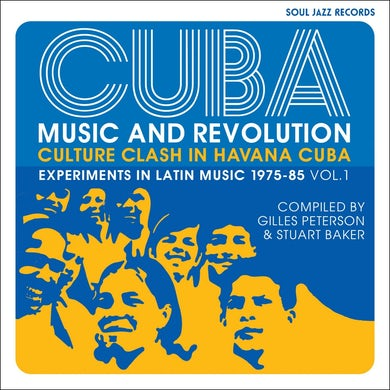 Soul Jazz Records Presents / Cuba: Music and Revolution: Culture Clash in Havana: Experiments in Latin Music 1975-85 Vol. 1 - 3LP Vinyl