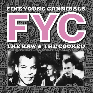 Fine Young Cannibals / The Raw & The Cooked - White LP Vinyl