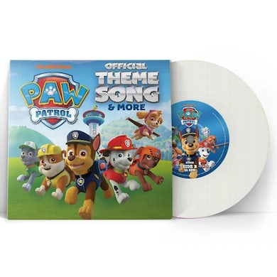 """PAW Patrol Official There Song & More - 7"""" Vinyl"""