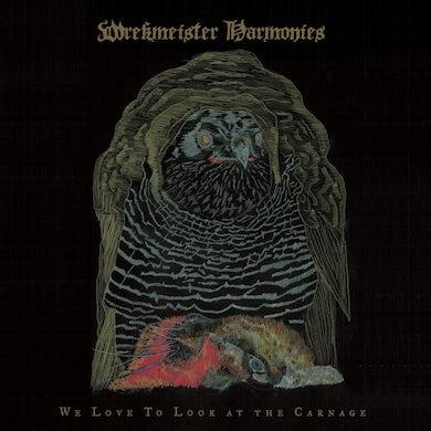 Wrekmeister Harmonies / We Love to Look at the Carnage - Blood Orange LP Vinyl
