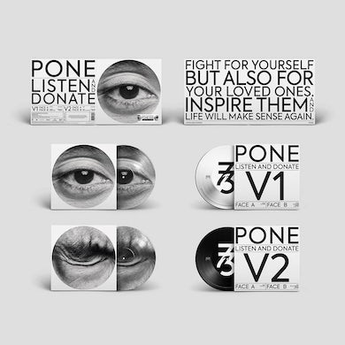 """Pone / Listen and Donate (EP) - 2x12"""" Picture Disc (Vinyl)"""