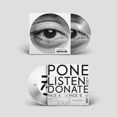 """Pone / Listen and Donate (EP) - 12"""" Picture Disc (Vinyl)"""