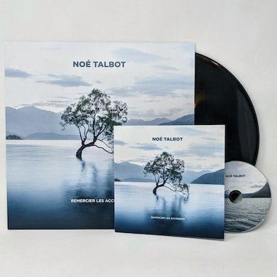 Noé Talbot / Remercier les accidents - LP Vinyl + CD