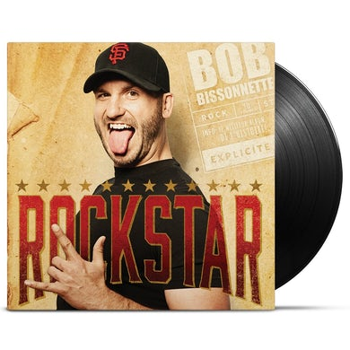 Bob Bissonnette / Rockstar - LP Vinyl