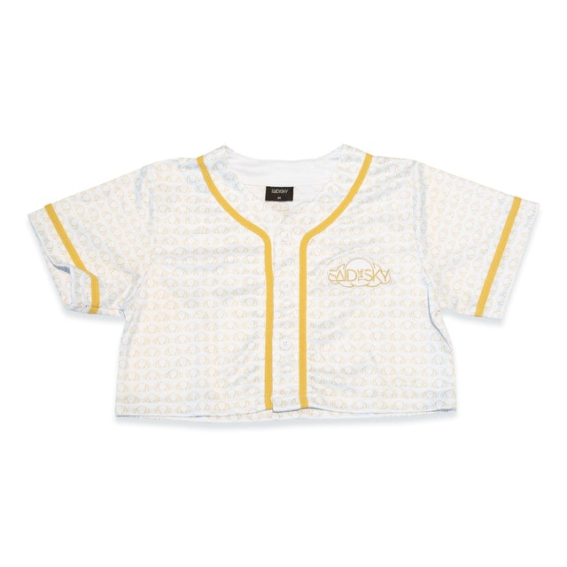 Said the Sky STS Women Crop Jersey / White