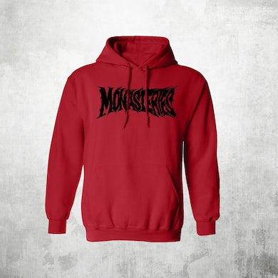 Monasteries Logo   Pull Over Hoodie
