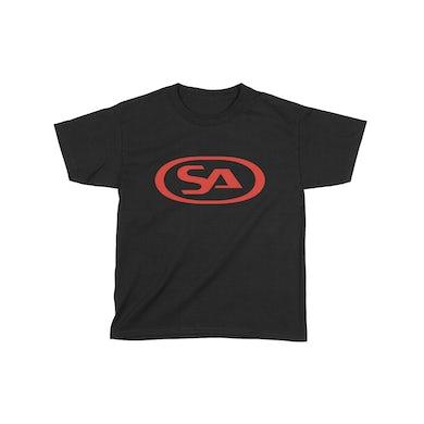 Skunk Anansie Kids SA Logo - T-shirt (Black/Red)