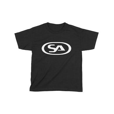Skunk Anansie Kids SA Logo - T-shirt (Black/White)