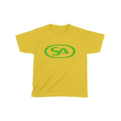 Skunk Anansie Kids SA Logo - T-shirt (Yellow/Green)