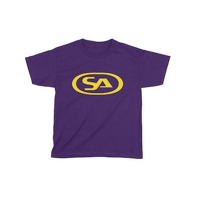 Skunk Anansie Kids SA Logo - T-shirt (Purple/Yellow)