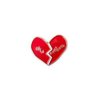 Orla Gartland broken heart pin badge