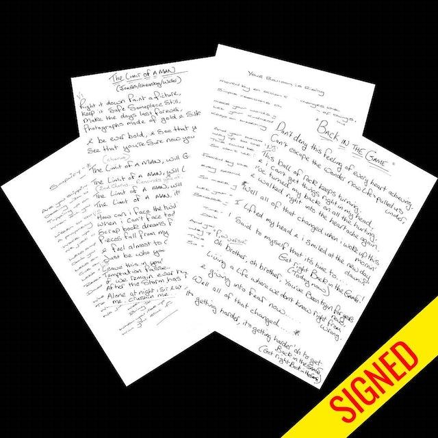 Stone Foundation Street Rituals Lyric Cards - Signed