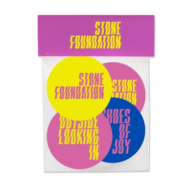 Stone Foundation Sticker Pack
